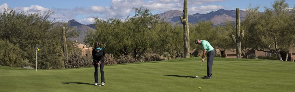 Rolling at the Ranch Course of Tonto Verde Golf Club