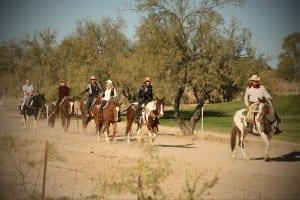 Rancho de Los Caballeros Ride