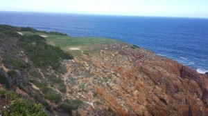 Another frightening par 3 at Pinnacle Point