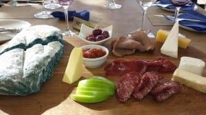Ernie Els Winery appetizers