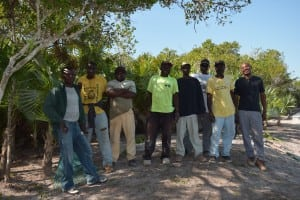 The Abaco Club Grounds Crew