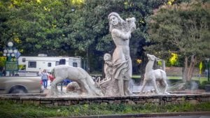 Hot Springs Sculpture