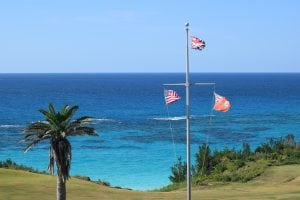 Mid Ocean Golf Club, Hollywood hills in Bermuda