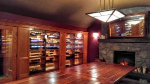 Wine cellar of Westin Bear Mountain, BC