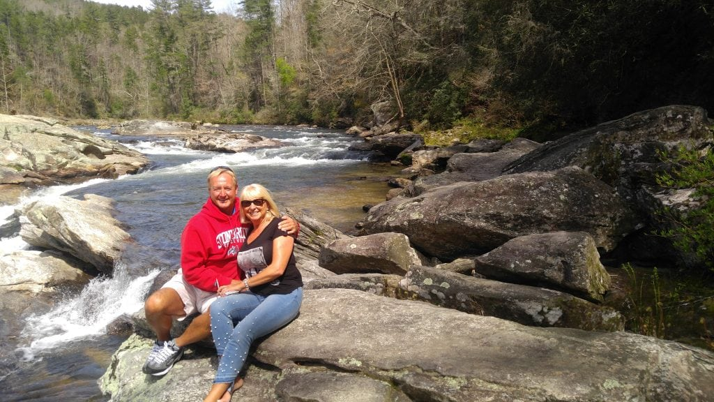 Americasgolfingcouple on Chattooga River