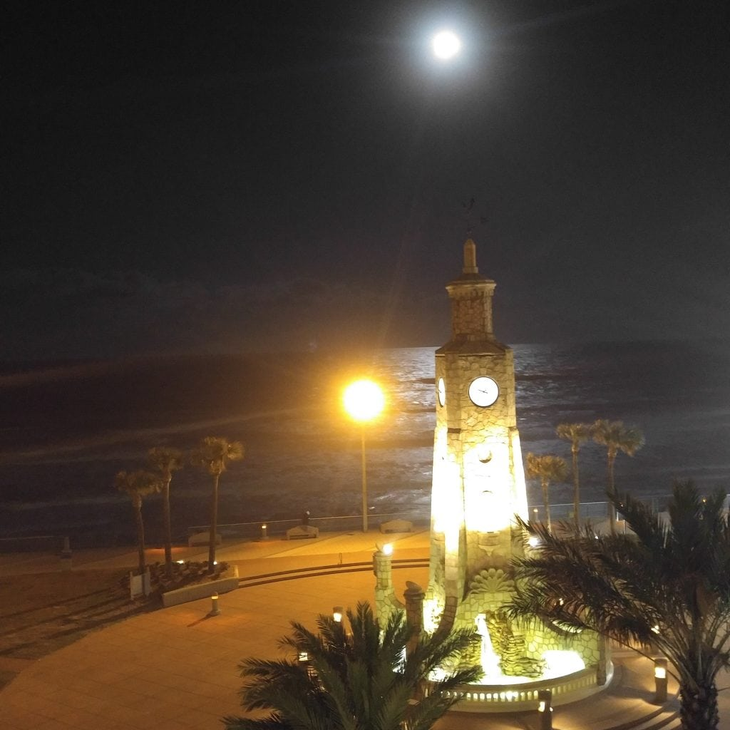 Clock Tower at Daytona Beach